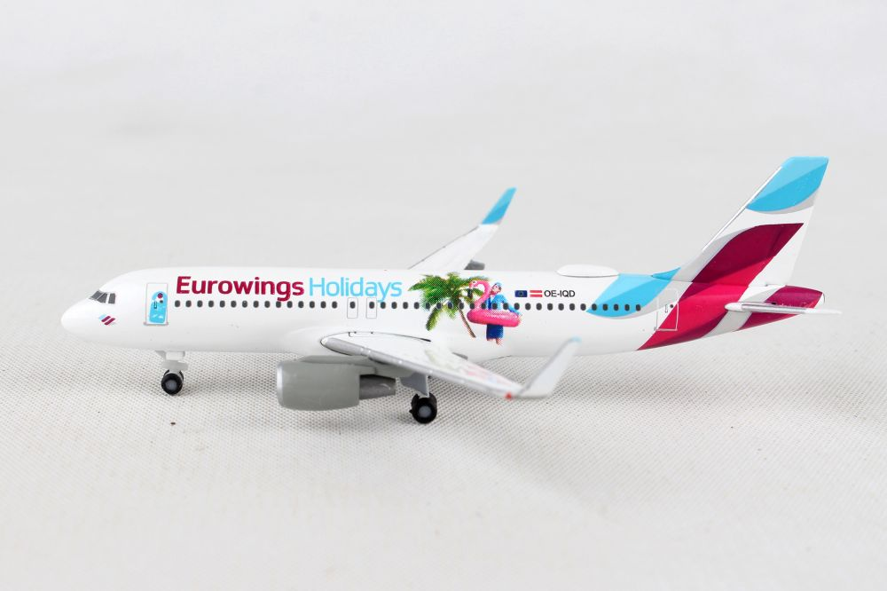 Herpa Wings 1:400 Airbus A320 Eurowings Holydays 562676