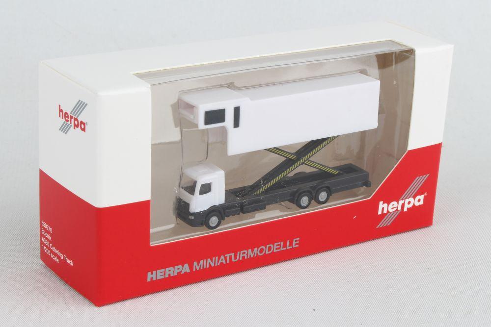 Herpa 532662-1//500 A380 Catering Truck 4-in-1 Set Neu