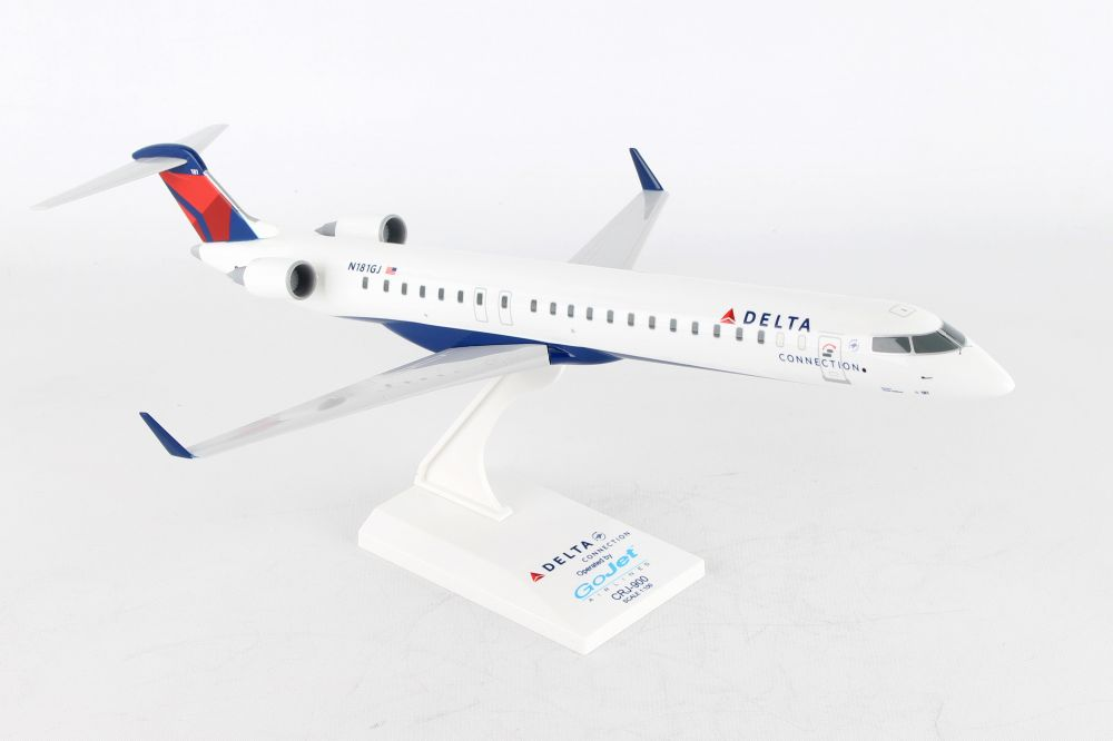 SKYMARKS DELTA CRJ900 1/100 GOJET REG#N181GJ